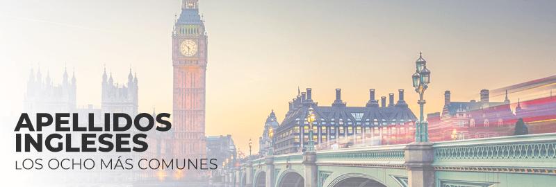 Los ocho apellidos ingleses más comunes