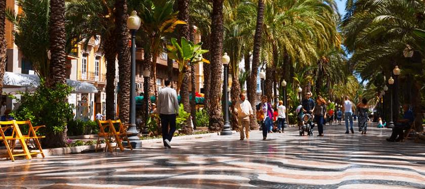 Explanada España Alicante